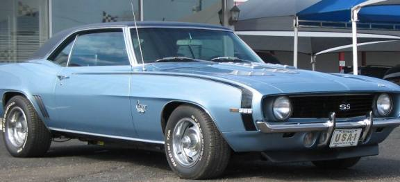 My 1969 Camaro Ss 350